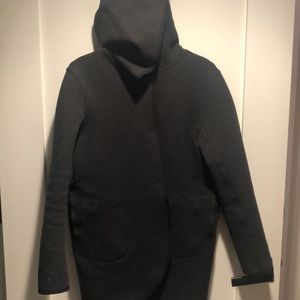 Reversible Lululemon gray/ black jacket